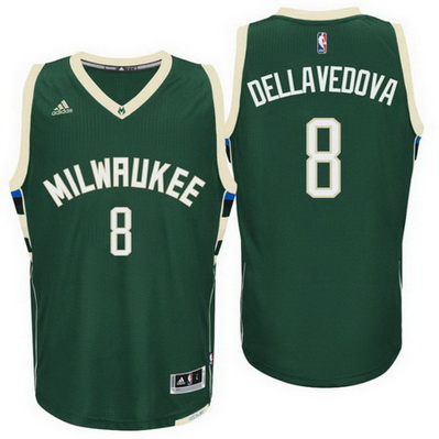 canotta nba matthew dellavedova 8 2016 milwaukee bucks verde