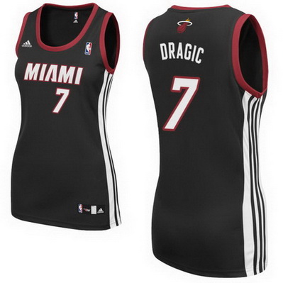 canotta basket donna miami heat goran dragic 7 nero