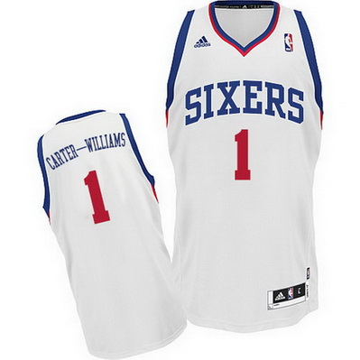 canotta basket michael carter-williams 1 philadelphia 76ers bianca