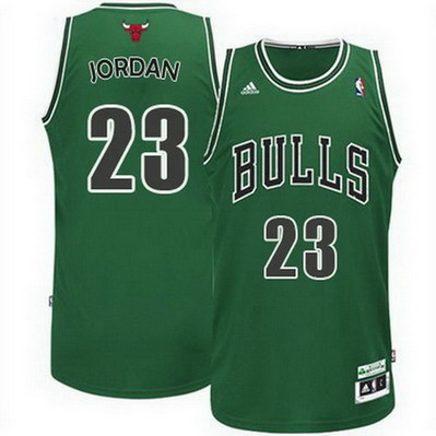 canotta basket michael jordan 23 chicago bulls rev30 verde