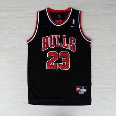 canotta michael jordan 23 retro chicago bulls nero