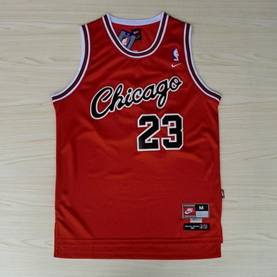 canotta nba michael jordan 23 retro chicago bulls rosso