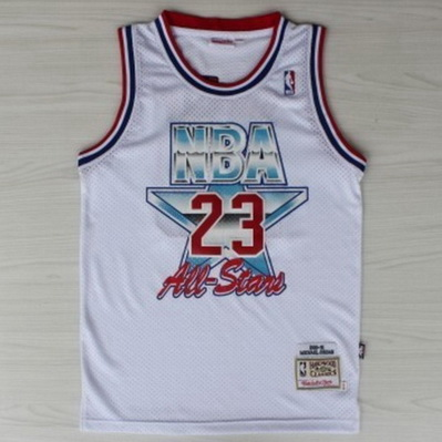 maglie basket michael jordan nba all star 1992 bianca