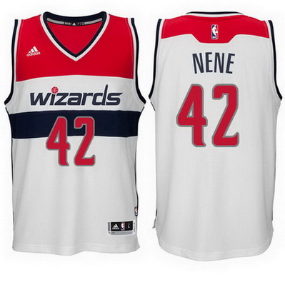 canotta basket nene hilario 42 2015 washington wizards bianca