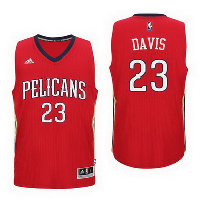 maglia nba new orleans pelicans bambino anthony davis 23 rosso