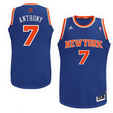 canotta new york knicks bambino carmelo anthony 7 blu
