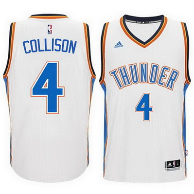 canotta nick collison 4 2015 oklahoma city thunder bianca