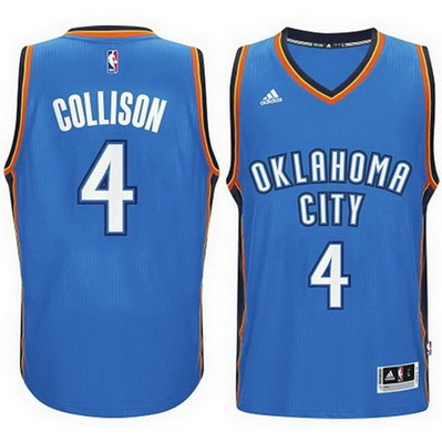 maglia nba nick collison 4 2015 oklahoma city thunder blu