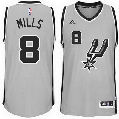 canotta patty mills 8 2015 san antonio spurs grigio