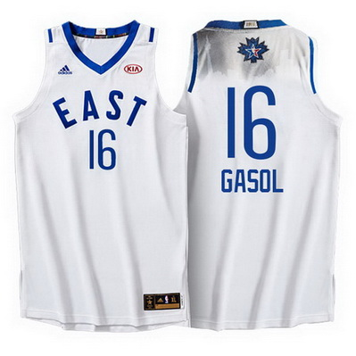 canotta uomo pau gasol 16 nba all star 2016 bianca