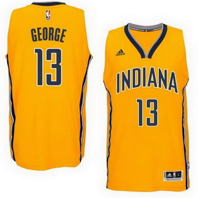 canotta basket paul george 13 2015 indiana pacers giallo