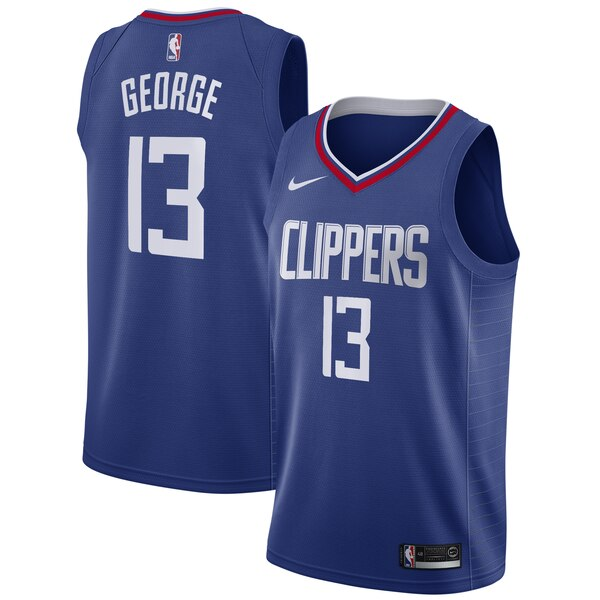 canotta Paul George 13 2019-2020 los angeles clippers blu