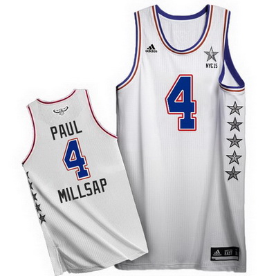 canotta uomo paul millsap 4 nba all star 2015 bianca