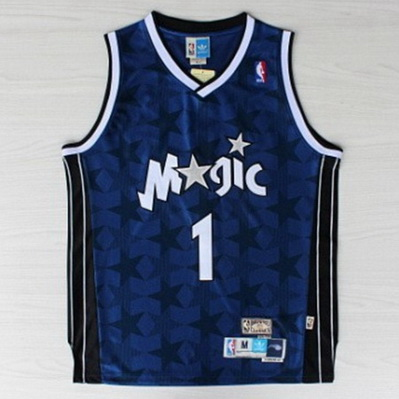 maglia basket penny hardaway 1 orlando magic rev30 blu