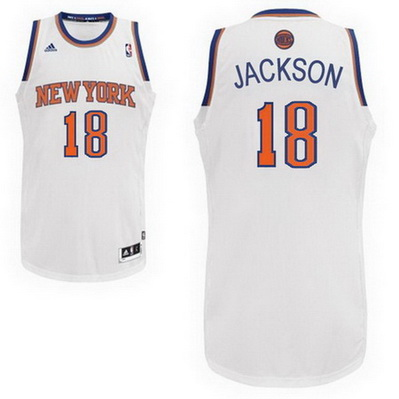 maglia basket philip jackson 18 new york knicks rev30 bianca