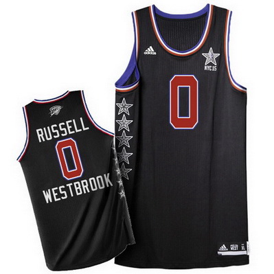 canotta basket russell westbrook 0 nba all star 2015 nero