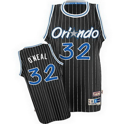canotta shaquille o'neal 32 orlando magic soul nero