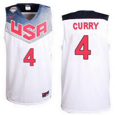 canotta basket stephen curry 4 nba usa 2014 bianca