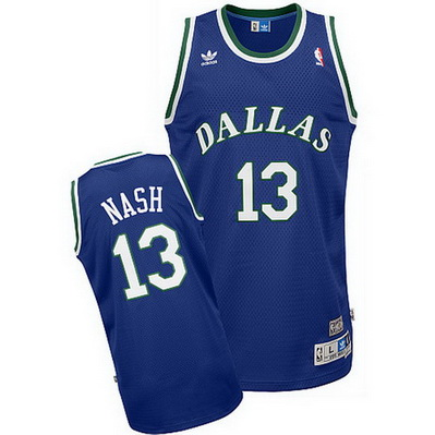 maglia basket steve nash 13 dallas mavericks soul blu