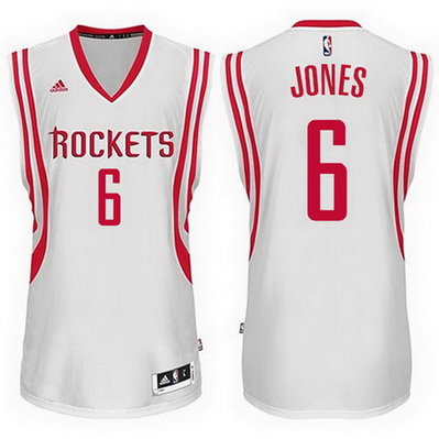 canotta basket terrence jones 6 2015 houston rockets bianca