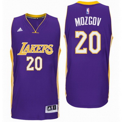 maglia timofey mozgov 20 2016 los angeles lakers porpora