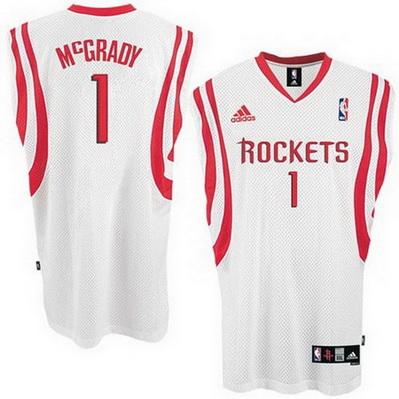 canotta nba tracy mcgrady 1 houston rockets bianca