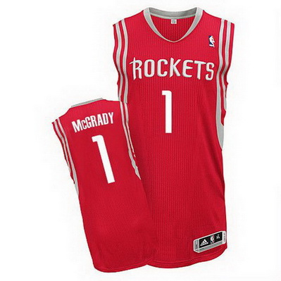 maglia basket tracy mcgrady 1 houston rockets rosso