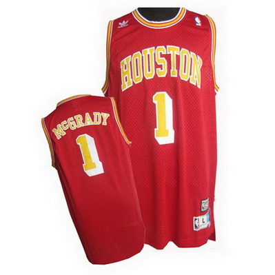canotta basket tracy mcgrady 1 houston rockets soul rosso