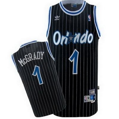maglia nba tracy mcgrady 1 orlando magic soul nero
