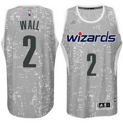 canotta uomo washington wizards john wall 2 lights grigio