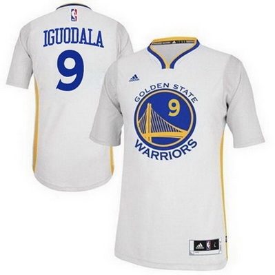 maglietta nba andre iguodala 9 2015 golden state warriors bianca