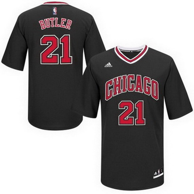 maglietta nba chicago bulls jimmy butler 21 nero