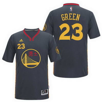 maglietta draymond green 23 2017 golden state warriors cina nero