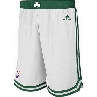 pantaloncini corti uomo basket nba boston celtics rev30 bianca