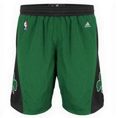 pantaloncini corti uomo basket nba boston celtics rev30 nero