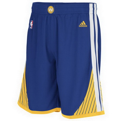 pantaloncini corti uomo basket nba golden state warriors rev30 blu
