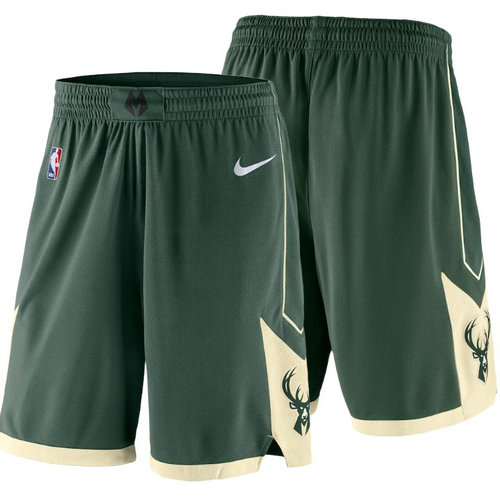 Pantaloncini corti basket Milwaukee Bucks 2018 Verde