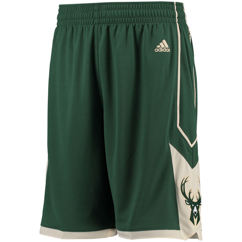 Pantaloncini corti basket Milwaukee Bucks Rev30 Verde