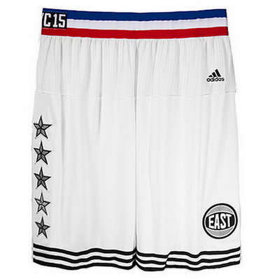 pantaloncini corti uomo basket nba all star 2015 bianca