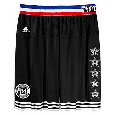 pantaloncini corti uomo basket nba all star 2015 nero