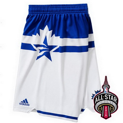 pantaloncini corti uomo basket nba all star 2016 bianca