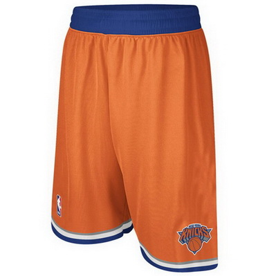 pantaloncini corti uomo basket nba new york knicks rev30 arancia