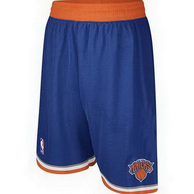 pantaloncini corti uomo basket nba new york knicks rev30 blu