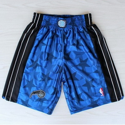 pantaloncini corti uomo basket nba orlando magic rev30 blu
