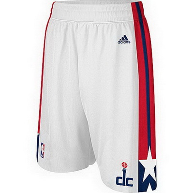 pantaloncini corti uomo basket nba washington wizards rev30 bianca