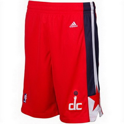 pantaloncini corti uomo basket nba washington wizards rev30 rosso