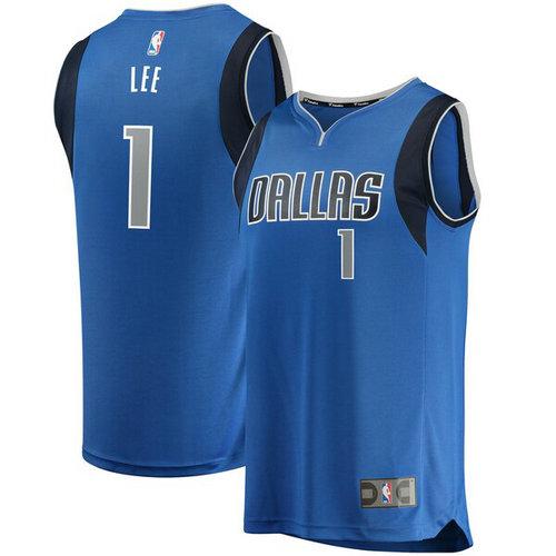 maglia Courtney Lee 1 2019 dallas mavericks blu
