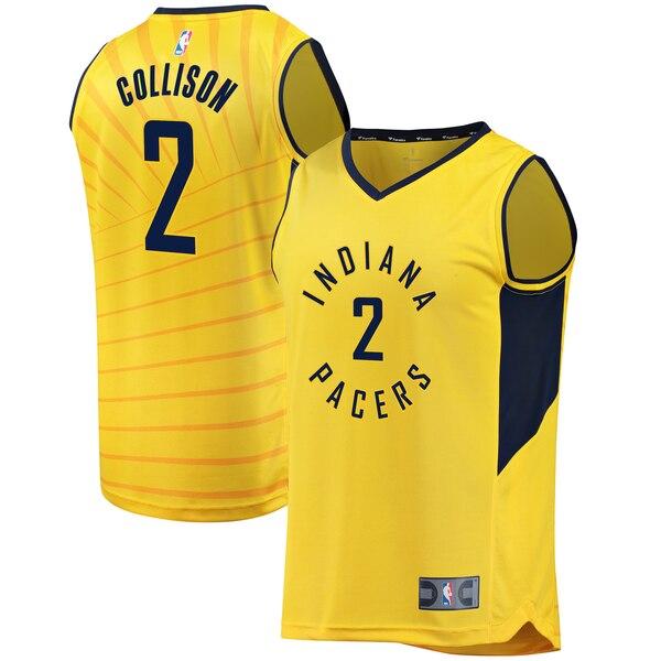 maglia darren collison 2 2020 indiana pacers giallo