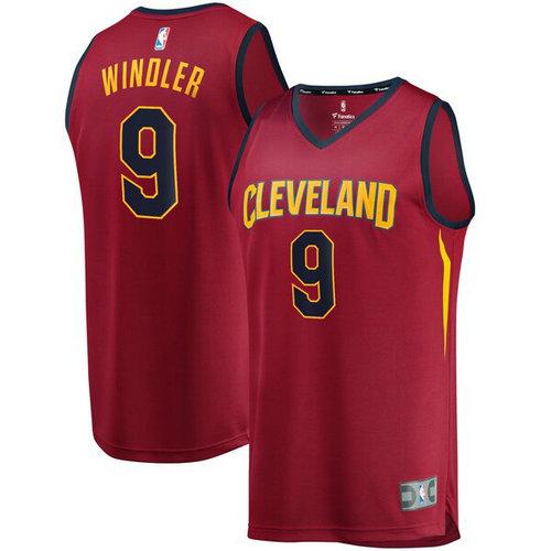 Maglie Basket Dylan Windler 9 2019 cleveland cavaliers Rosso