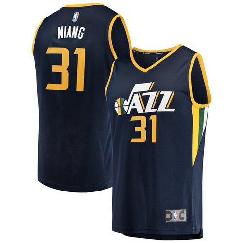 canotta Georges Niang 31 2019 utah jazz navy
